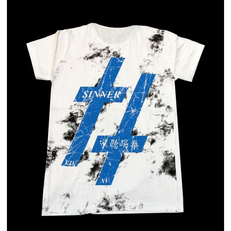 تی شرت نخی سفید