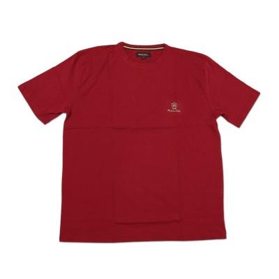 تی شرت نخی سایز بزرگ قرمز