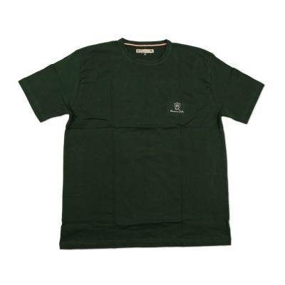 تی شرت نخی سایز بزرگ سبز تیره