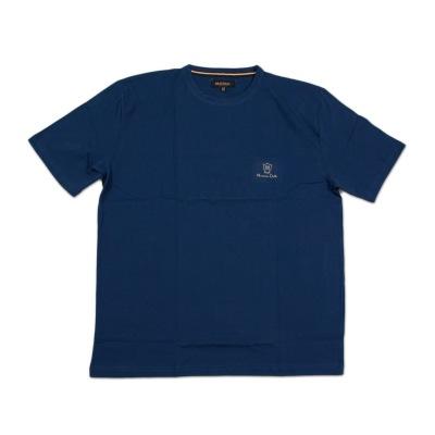 تی شرت نخی سایز بزرگ آبی