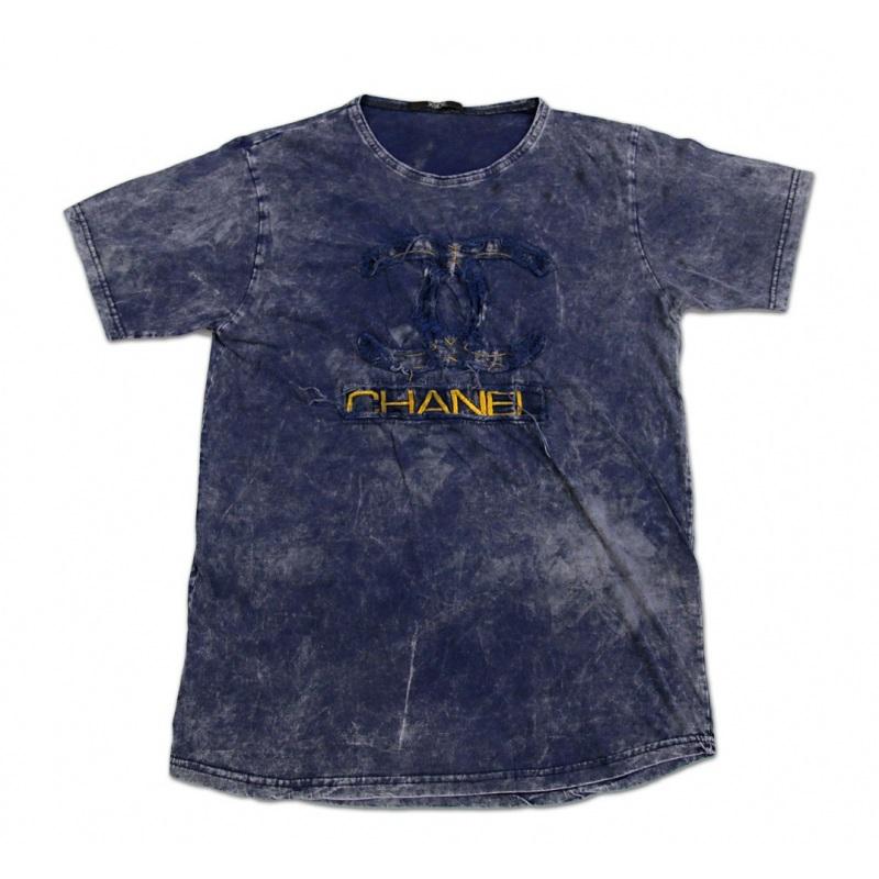 تی شرت سنگ شور تکه دوزی شده CHANEL