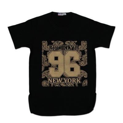 تی شرت بغل زیپ چاپ طلایی