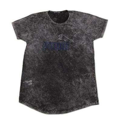 تی شرت سنگ شور تکه دوزی شده پوما
