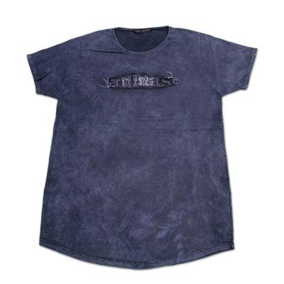 تی شرت سنگ شور تکه دوزی شده آدیداس