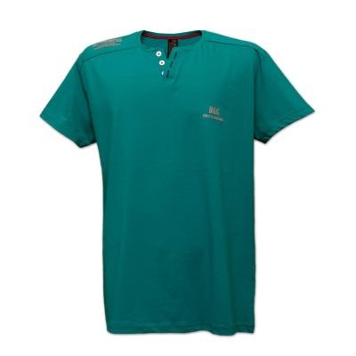 تی شرت سه دکمه یقه ژاپنی 2XL