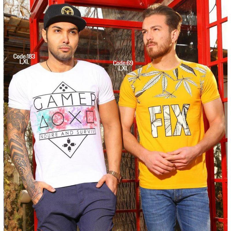تیشرت مردانه fix brand