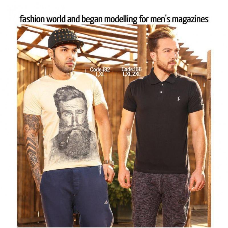 خرید تیشرت عمده مردانه