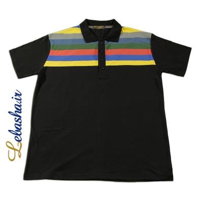 تی شرت سایز بزرگ یقه دار 3XL