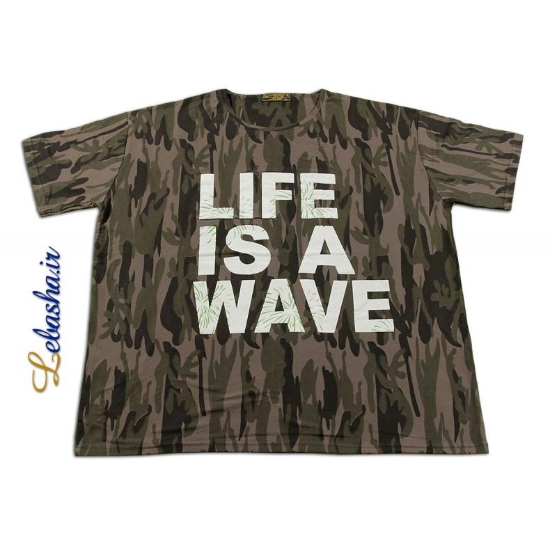 خرید اینترنتی تی شرت سایز بزرگ ارتشی