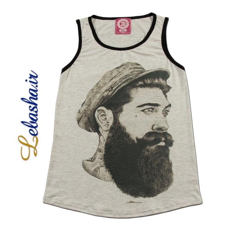 تاپ چاپ مرد ریش دار