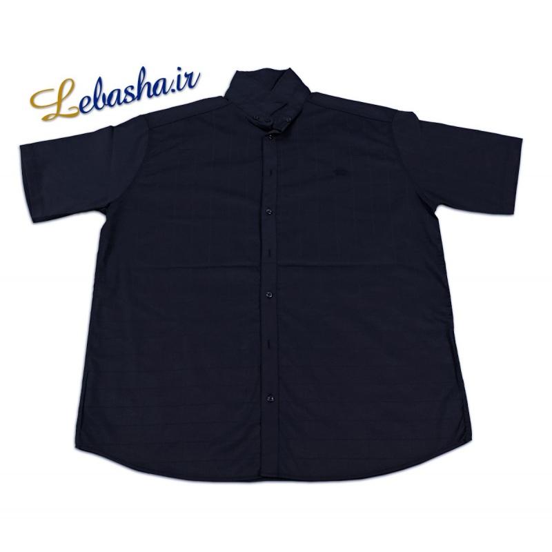 پیراهن سایز بزرگ آستین کوتاه