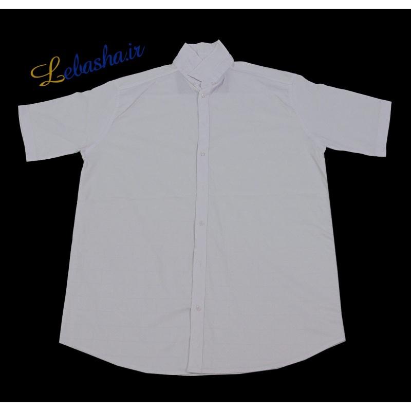 فروش پیراهن سایز بزرگ آستین کوتاه