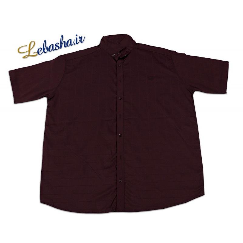 فروش اینترنتی پیراهن سایز بزرگ آستین کوتاه