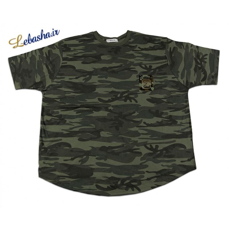 فروش تی شرت چریکی سایز بزرگ