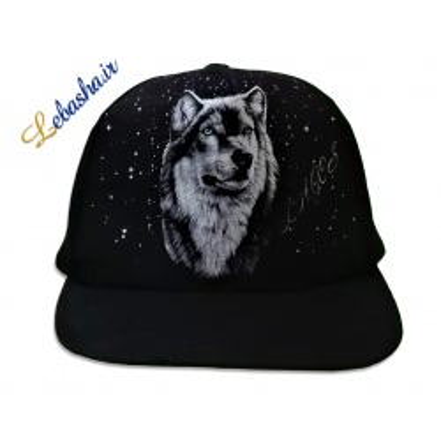 کلاه شب نما طرح گرگ