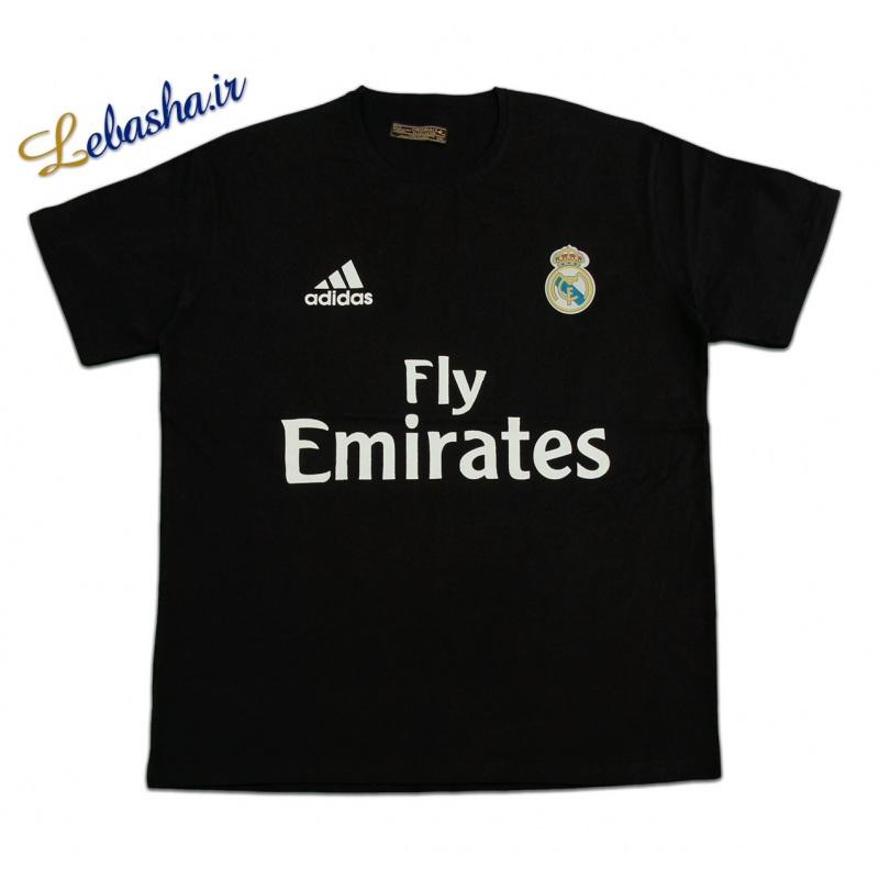 تیشرت رئال مادرید سایز بزرگ فروشگاه لباسها 1204