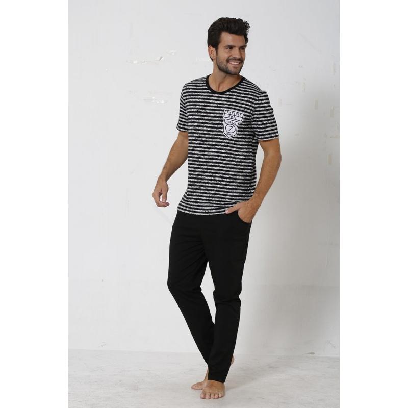 ست راحتی مردانه تیشرت شلوار راحتی پسرانه سکسن SXM20004