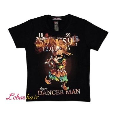 تیشرت سایز پسرانه دنسر من DANCER MAN سایز بچه گانه سن 7 تا 13 سال