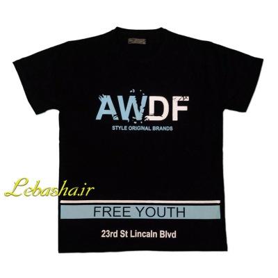 تی شرت سایز بزرگ AWDF