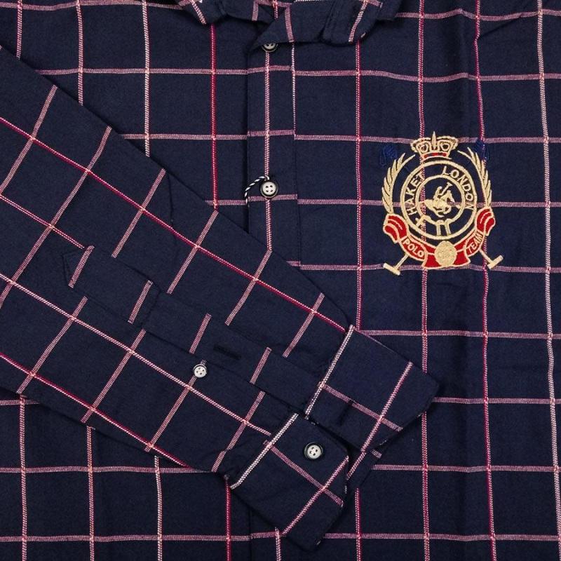 پیراهن چهارخونه سایز بزرگ پارچه پنبه پنبه بدون کش