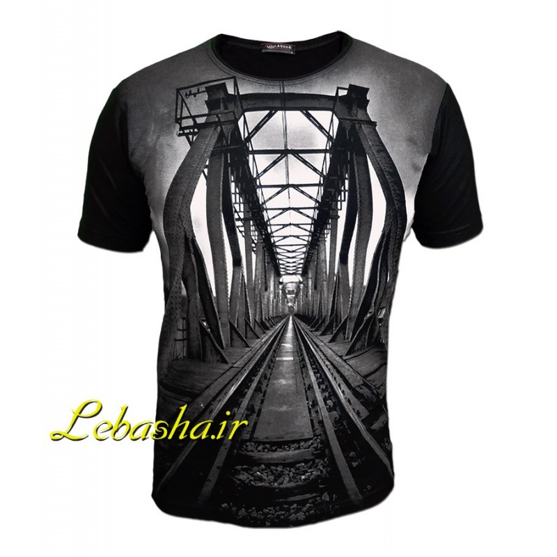 تیشرت پل قطار با طرحی زیبا و دراماتیک