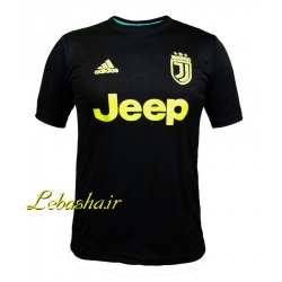 پیراهن ورزشی یونتوس  تیشرت رنگ مشکی باشگاه یونتوس ایتالیا مخصوص ورزش