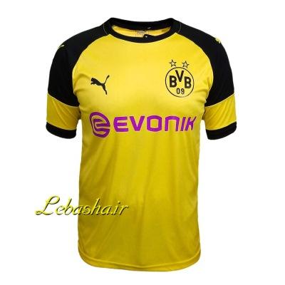 پیراهن ورزشی دورتمند رنگ زرد تیشرت باشگاه دورتمند آلمان
