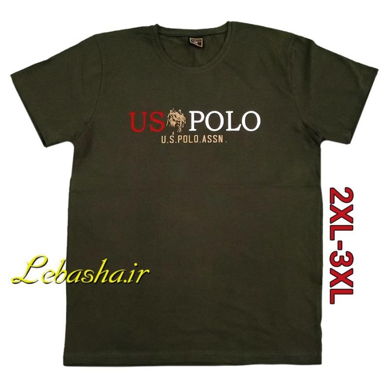 تیشرت USPOLO سایز بزرگ ارزان اینجاست ولی با کیفیت