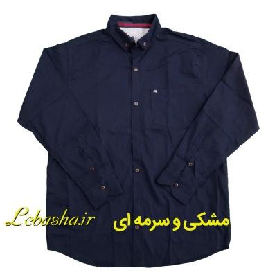 پیراهن جیب دار سایزبزرگ