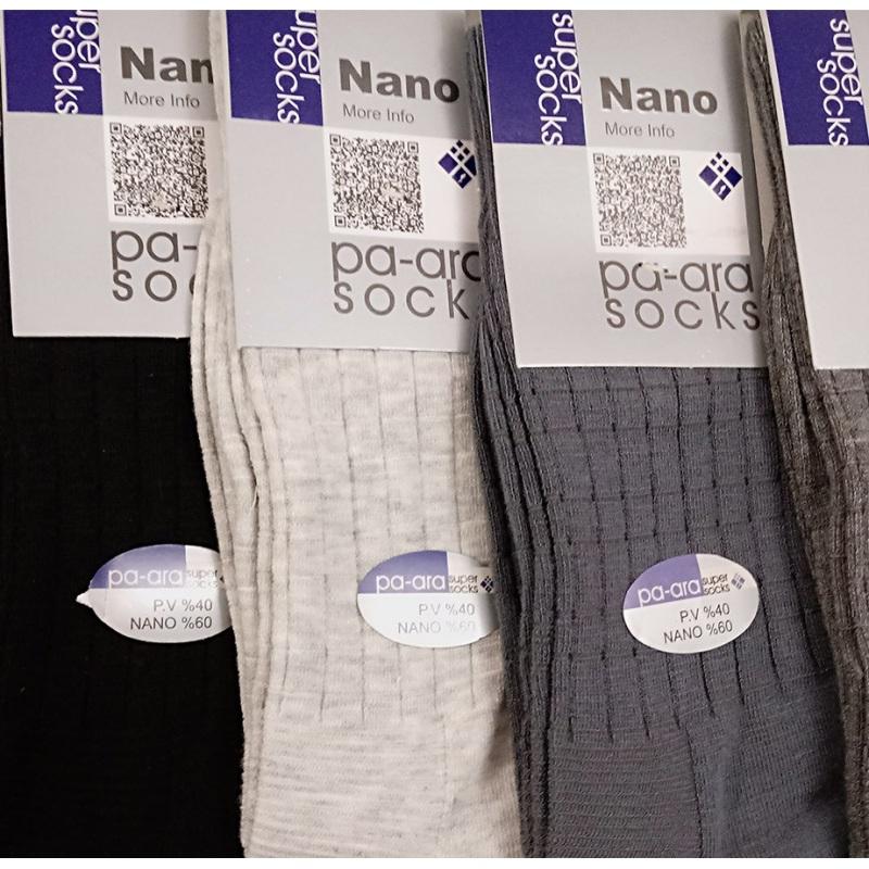جوراب نانو 60 درصد جنس اصلی و اعلا مدل مشبک چهارخونه
