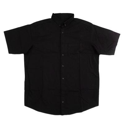 پیراهن مشکی آستین کوتاه جیب دار