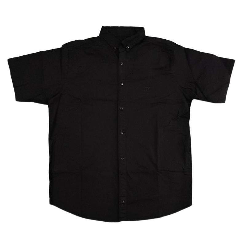 پیراهن مشکی آستین کوتاه  سایز بزرگ
