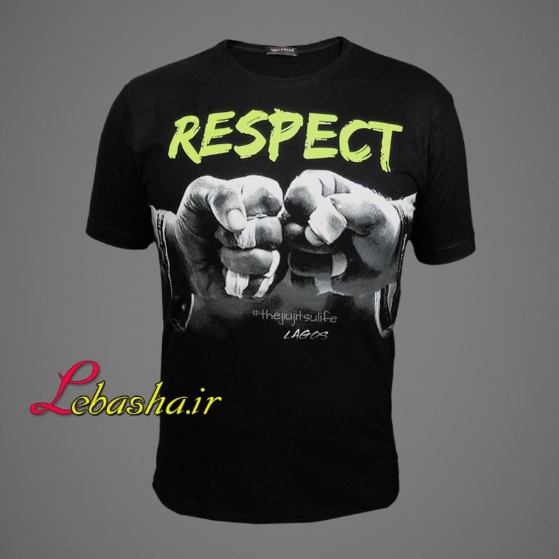 تیشرت بلک لایت respect