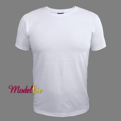 تیشرت سفید ساده