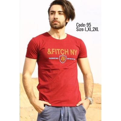 تی شرت پنبه ای کد F95