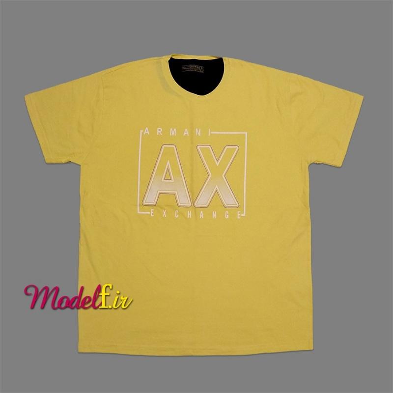 تیشرت زرد سایز بزرگ