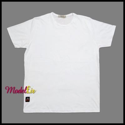 تیشرت سفید ساده سایز بزرگ