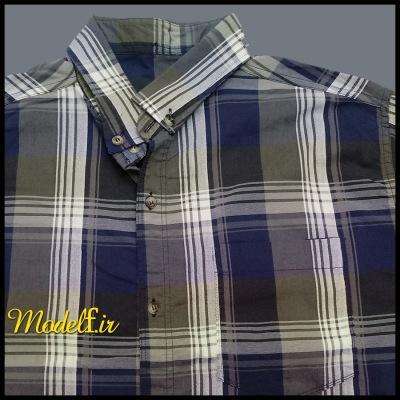 پیراهن سایز بزرگ پنبه ای