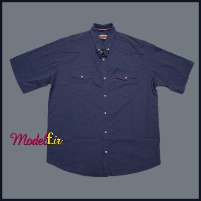 پیراهن سایز بزرگ دو جیب پنبه ای