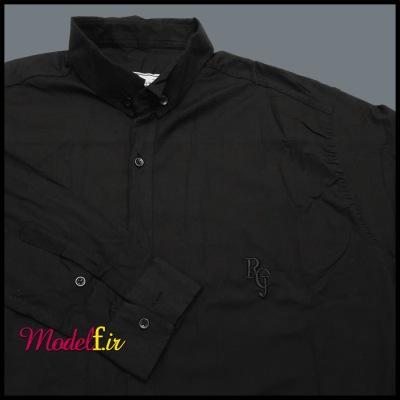 پیراهن مشکی سایز بزرگ آستین بلند