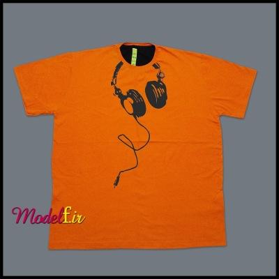 تیشرت سایزبزرگ نارنجی