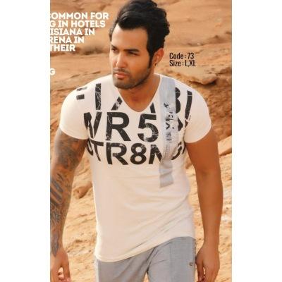تی شرت پنبه ای کد F73