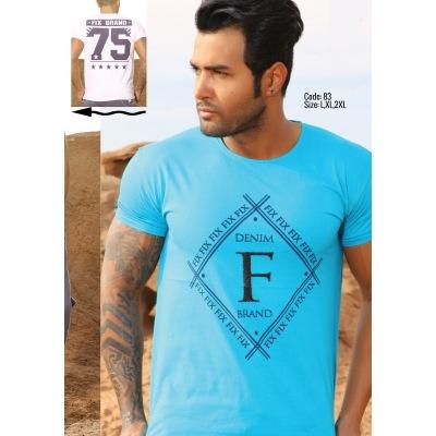 تی شرت پنبه ای کد F83