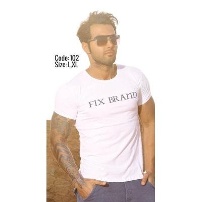 تی شرت پنبه ای کد F102