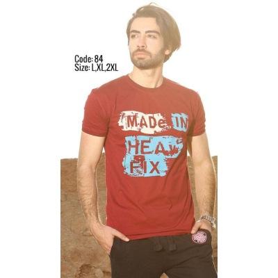 تی شرت پنبه ای کد F84