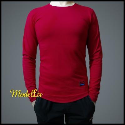 تیشرت آستین بلند قرمز پرسپولیسی