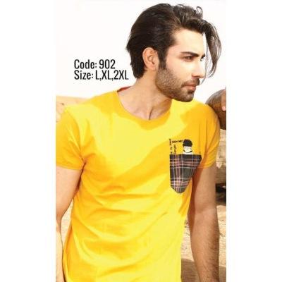 تی شرت پنبه ای کد F902