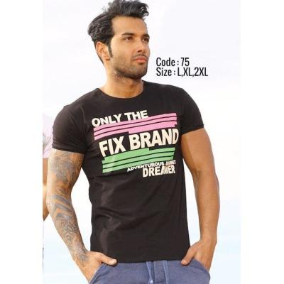 تی شرت پنبه ای کد F75