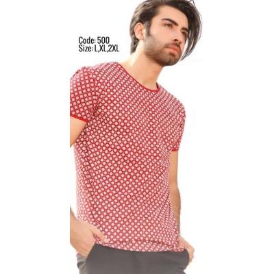 تی شرت پنبه ای کد F500