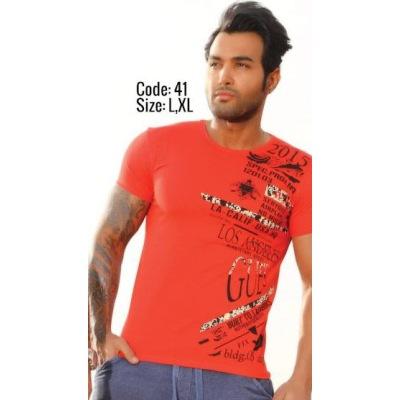 تی شرت پنبه ای کد F41